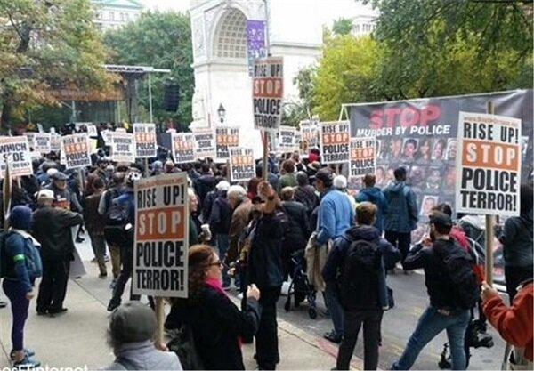 المظاهرات المنددة بالعنصرية في أمريكا