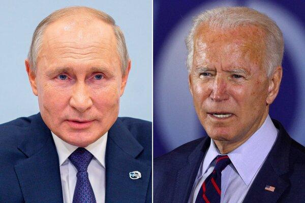 مذاکرات پوتین و بایدن پایان یافت