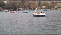 قایقسواری در نگین آبی خرمآباد