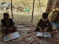 پوشش آموزش مطلوب عشایر استان همدان در قالب طرح جهاد تدریس