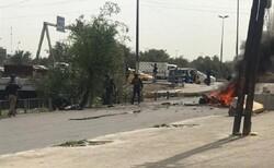 انفجار دراجة نارية في بغداد