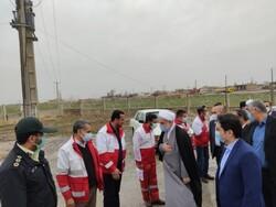 خدمات امدادگران هلال احمر در کردستان ستودنی است