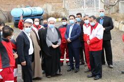 بازدید نماینده ولی فقیه در کردستان از پایگاه های امداد جاده ای