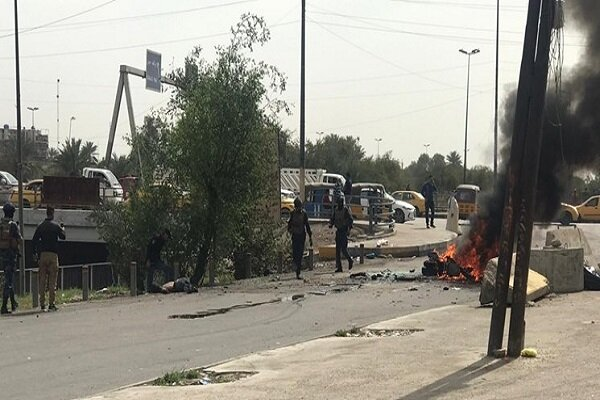 1 killed, 4 injured in suicide attack in E Baghdad (+VIDEO)