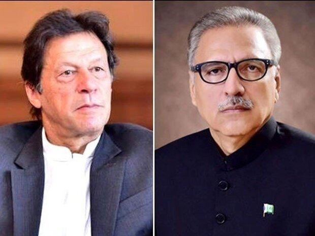 پاکستانی وزیر اعظم اور صدر کا کشمیری مسلمانوں کی حمایت جاری رکھنے کا اعادہ