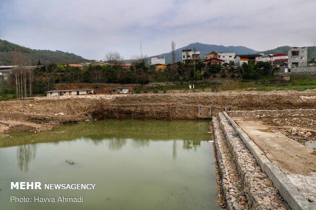 پروژه اجرای عملیات کف بند تثبیت بستر رودخانه تالار محدوده شیرگاه