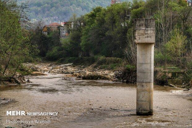 پل نیمه کاره شیرگاه - مازندران
