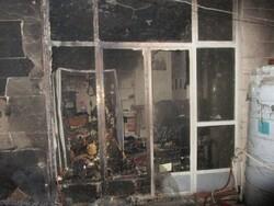۷ نفر در آتش سوزی منزل مسکونی شهرضا مصدوم شدند