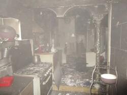 ۲ حادثه آتشسوزی در ۲منزل مسکونی در یکی از محلات اصفهان گزارش شد