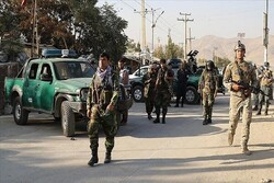 A police officer wounded in a roadside bomb blast in Kabul