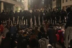 اعتراضات مردمی در «بریستول» انگلیس به خشونت کشیده شد