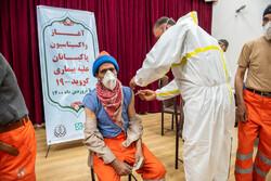 واکسیناسیون پاکبانان در شیراز