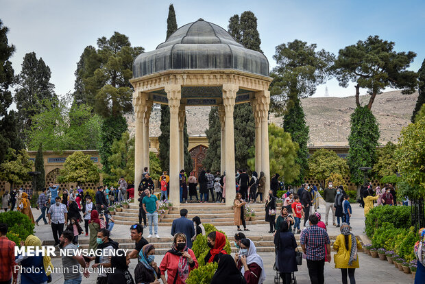 نوروز 1400 «حافظیه» شیراز- آرامگاه حافظ