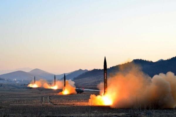 شمالی کوریا کا کم فاصلے تک مار کرنے والے دو میزائلوں کا تجربہ