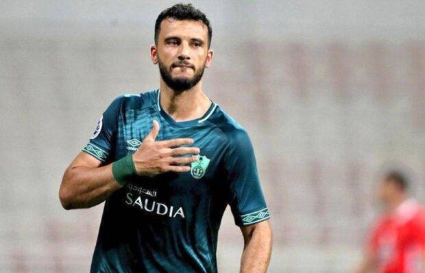 المهاجم السوري يغيب عن المباراة مع إيران / السومة يعود للسعودية
