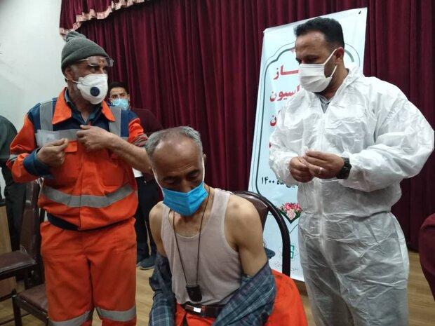 ۲ هزار پاکبان استان فارس واکسن  مقابله با کرونا دریافت خواهند کرد