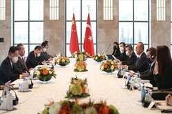 وزرای خارجه چین و ترکیه دیدار کردند