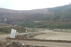 طغیان رودخانه روستای «پلام» منطقه اشکورات شهرستان رودسر