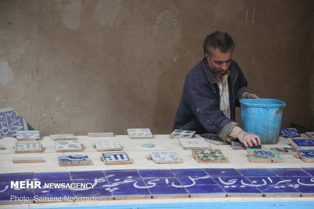 کارگاه کاشی سازی مسجد جامع هرات