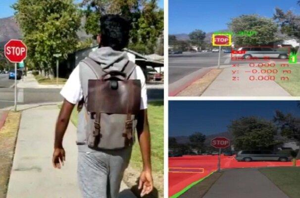 کوله پشتی هوشمند نابینایان را راهنمایی میکند