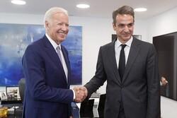 Biden ile Miçotakis Doğu Akdeniz'i görüştü