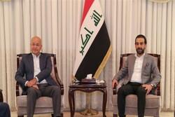 تأکید «صالح» و «الحلبوسی» بر لزوم برگزاری انتخابات پارلمانی زودهنگام