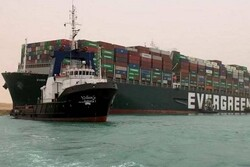 First ship passes through Suez Canal after days of crisis