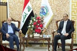 Iranian envoy meets with Iraqi labor min. for bilateral talks