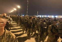 Number of US forces withdraw from air base in Iraq's Erbil