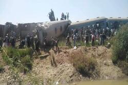 مصر میں دو ٹرینوں میں تصادم / 32 افراد ہلاک