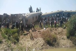 Two passenger trains collide in Egypt, 32 killed