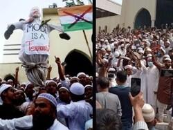 بھارتی وزیراعظم کے دورہ بنگلہ دیش کے دوران مظاہرہ/ پولیس کی فائرنگ سے 4 افراد ہلاک