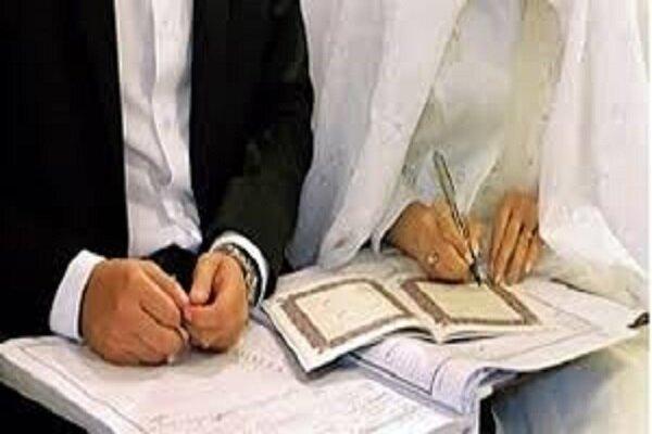 میزبانی اتاق عقد حرم حضرت معصومه(س) از زوجهای جوان در نیمه شعبان