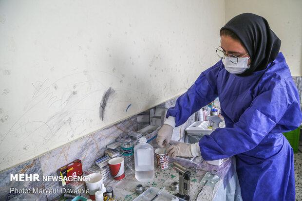 روایتی از حضور جهادی دندانپزشکان منتظران ظهور در جرگلان
