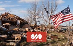 امریکی ریاست الاباما میں شدید طوفان