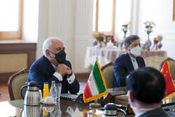 Dışişleri Bakanı Zarif'ten Çin'e kutlama