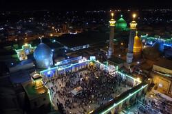 صحن مصلای بزرگ ری، به نام مبارک «بقیة الله الاعظم(عج)» مزین شد