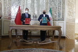 Iran, China sign comprehensive cooperation agreement