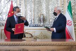 ایران اورچین جامع دستاویز پر دستخط کردیئے
