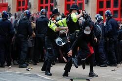 اعتراضات در لندن علیه «لایحه افزایش قدرت سرکوب پلیس»/ تظاهرات در «بریستول»