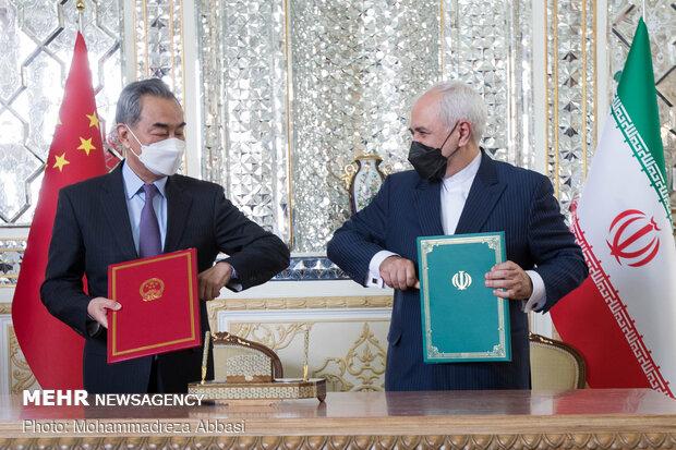 Iran-China strategic coop. document win-win agreement: MP