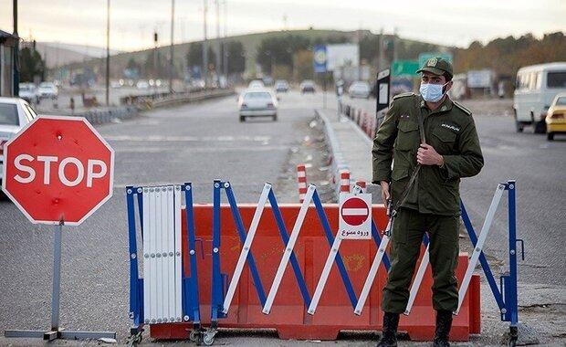 استقرار نیروهای پلیس راه در۹ ورودی اصفهان/تردد بین شهری ممنوع است
