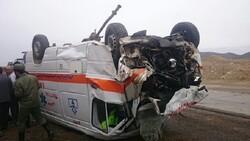 راننده آمبولانس،زن باردار و جنین در تصادف محور علویجه جان باختند