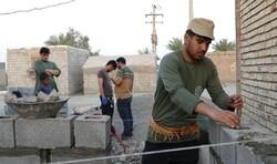 محرومیت زدایی جهادگران قرارگاه جهادی امام رضا (ع) در کرمان