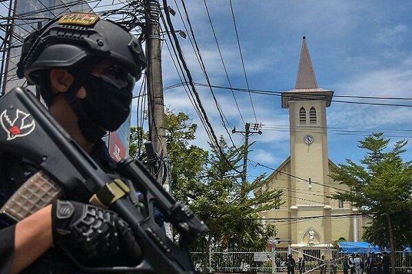 Endonezya'da kiliseye bombalı saldırı: 14 yaralı
