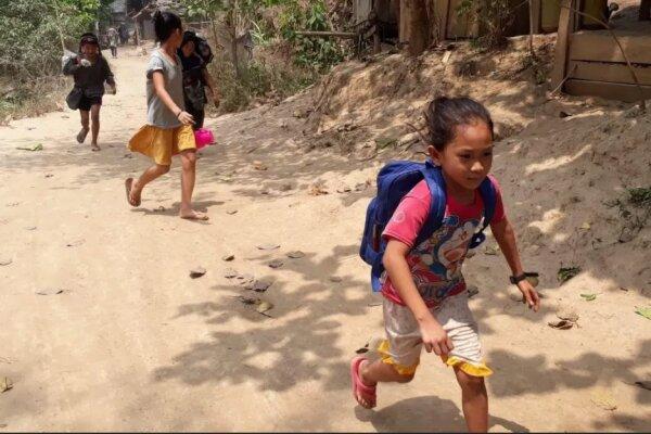 فرار ۳۰۰۰ نفر به تایلند پس از بمباران روستاها توسط ارتش میانمار
