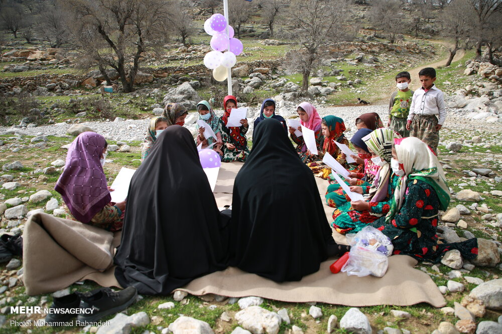 فعالیت جهادی منتظران خورشید در منطقه احمد فداله