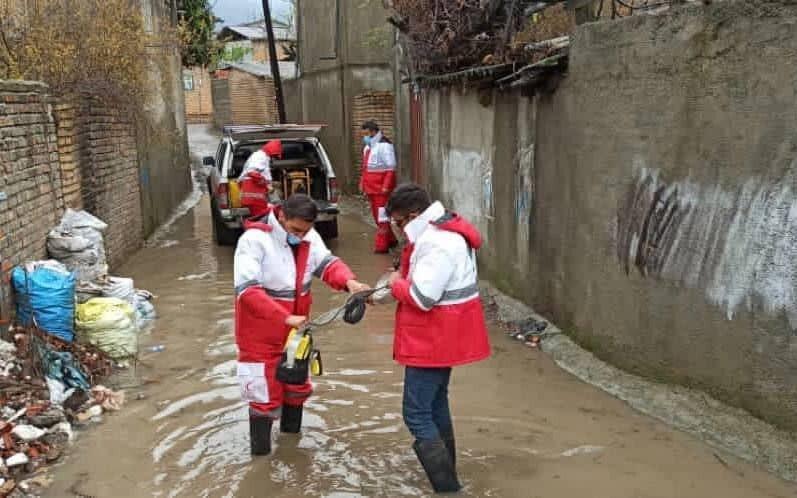 امدادرسانی به ۳۸۶ نفر در ۷۲ ساعت گذشته