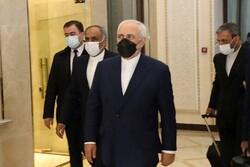Dışişleri Bakanı Cevad Zarif Roma'da