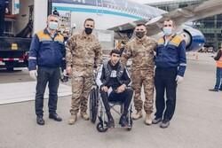 27 Azerbaycanlı gazi, tedavi için Türkiye'ye gönderildi